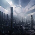 Mass Effect Citadel Illustration by Connor  Foley
