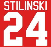 Stiles Stilinski's Jersey - white text Kids Clothes