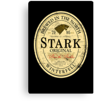 Stark Original Beer Label Canvas Print