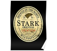 Stark Original Beer Label Poster
