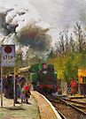 Steam Train 'Karel' Bitton Station by buttonpresser