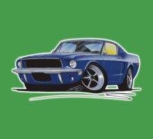 Ford Mustang (1967) Blue Kids Clothes