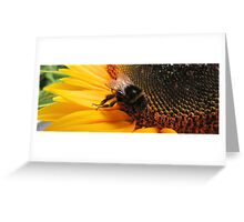 I'm dancing..., and eating..., Greeting Card