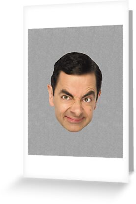 Mr. Bean Face by vincepro76