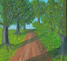 Path Through the Trees by Cathy Pierce Payne