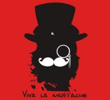 Viva la Mustache by Cimoe