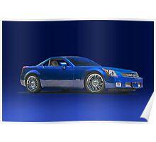 2000 Cadillac SLR Poster
