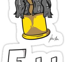 Full Metal Jacket Bullet Sticker