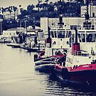 Crowley Tugboats at Rest by jjbentley