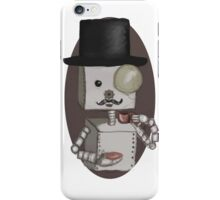 Gentleman bot iPhone Case/Skin