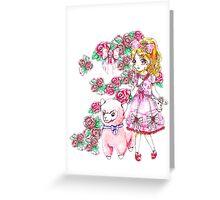 Hime-chan Greeting Card