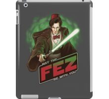 May the Fez be With You iPad Case/Skin