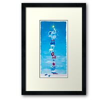 Let Them Smile But Don't Stop! - Adventure of changing the light bulb  Framed Print