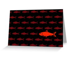 Red Herring Greeting Card