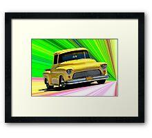 1956 Ford F100 Custom Pick-Up Truck VI Framed Print