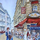 La Rotondo Cafe, Paris by Virginia  Coghill