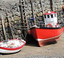 Fishing Boats by Alexandra Lavizzari