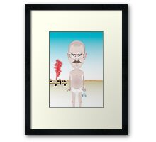 Breaking Bad. Walt. Framed Print