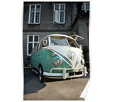 The Love Camper Van Poster