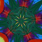 Tie Dye Fractal Art by FloraDiabla