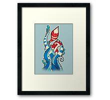 Fox tentacles Framed Print