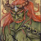Dark demon lord Ganondorf by Majinchris