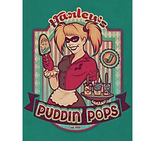 Harley's Puddin' Pops - print Photographic Print