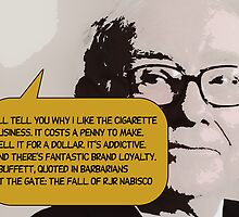 Warren Buffett(C2013) by Paul Romanowski
