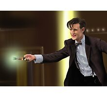 The 11th Doctor Who Photographic Print