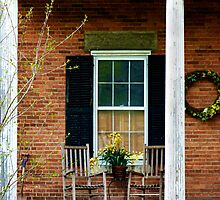 Front Porch Rockers cozy home decor by jemvistaprint