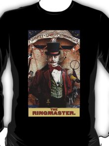 The Ringmaster: Circus Tarot by Duck Soup Productions T-Shirt