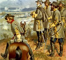General Lee At The Battle Of Fredericksburg by warishellstore