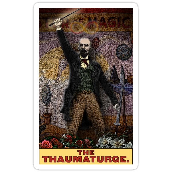 The Thaumaturge: Circus Tarot by Duck Soup Productions by DuckSoupDotMe