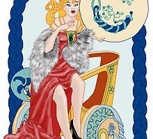 Celtic Capricorn by redqueenself