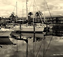 Port Macquarrie Marina by Stan Owen