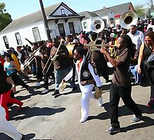 Rollin' at the Sunday Secondline by MJ Mastrogiovanni