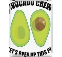 Avocado Crew iPad Case/Skin