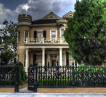 Cornstalk Fence Hotel by Greg and Chrystal Mimbs