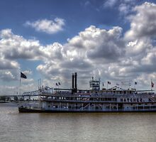 Steamboat Natchez Riverboat by Greg and Chrystal Mimbs