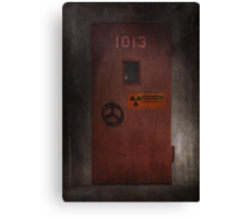 X-Files Krycek missile silo Canvas Print
