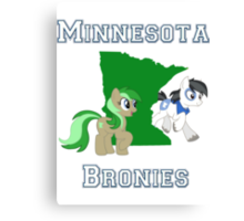 Minnesota Bronies Canvas Print