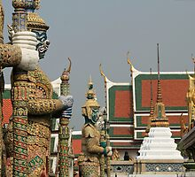 The Royal Palace in Bangkok by DRWilliams