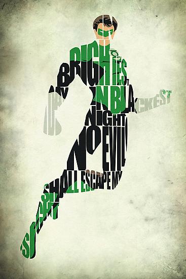 Green Lantern by A. TW