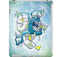 Toilet Monster iPad Case/Skin