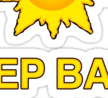 Keep Balm and Slap it on - T shirt Sticker