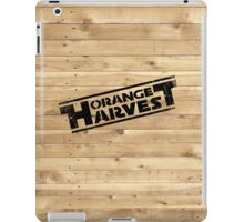 ORANGE HARVEST (DISTRESSED) iPad Case/Skin