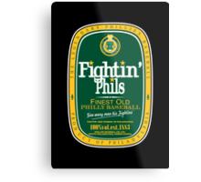 Fightin' Phils Dew Metal Print
