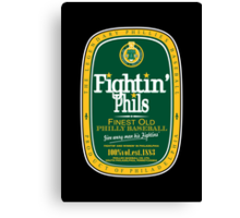 Fightin' Phils Dew Canvas Print