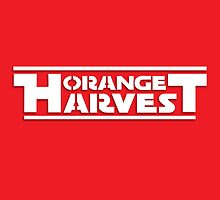ORANGE HARVEST (WHITE PRINT, NO DISTRESS) by w1ckerman