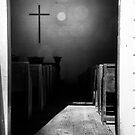 Cross in Church by KellyHeaton